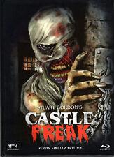 Castle Freak , 2 Discs limited Mediabook , uncut , new , Stuart Gordon ,Cover D