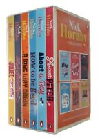 Nick Hornby 6 Book Box Set About a Boy High Fidelity Fever Pitch Funny New