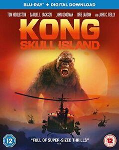 Kong: Skull Island [Blu-ray] [2017] [DVD][Region 2]