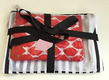 Lulu Guinness  Medium & Large Flat Make Up Bags New with Tags