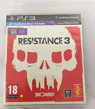 Resistance 3 (Sony PlayStation 3 PS3) Complete, Clean, Free Shipping