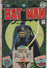 Batman #242 comic  52 pages, Classic cover