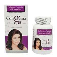 Colageina 10 by Victoria Ruffo,Rejuvenate,Anti-Age Collagen & Vitamin C. 60 caps