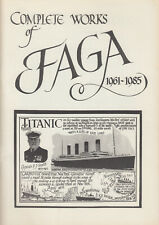 1985 postcard book ~ Complete works of FAGA 1961-1985