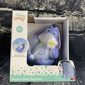 Disney Eeyore Bath Squirter Winnie The Pooh Toddler Kids Water Toy Interactive