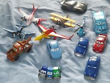 DISNEY PIXAR DIE CAST PLANES AEROPLANES CARS USED LOOSE & SOME MINT IN BOXES