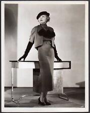 CLAIRE TREVOR Vintage Orig Photo ACTRESS FASHION PORTRAIT