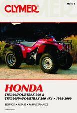 Honda TRX300 Fourtrax TRX300FW Big Red Workshop Manual