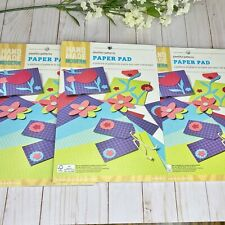 Hand Made Modern 12ct Pattern Craft Paper - 3 Pack