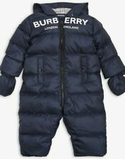 BURBERRY Kids Skylar down padded snowsuit Age 12 Months
