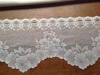brise bise cantonnière rideaux à décor vendu au mètre B28
