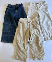 Boys Toddler 3T Jeans Khaki's Running Pants Circo Baby Gap Lot Of 3 Pieces