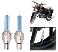 Tyre Led Motion Sensor Blue Light For Royal Enfield BULLET 350 (Set Of 2)