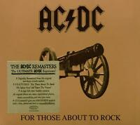 AC/DC - FOR THOSE ABOUT TO ROCK WE SALUTE YOU: REMASTERED CD ALBUM (2003)