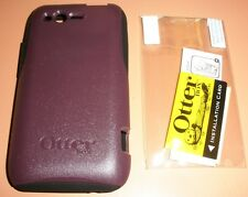Otterbox Commuter Case for HTC Rhyme, Burgundy & Black with PET screen protector
