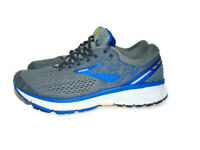 Brooks Men's Size 10.5 US Gray Blue Ghost 11 Road Running Active Athletic Shoes