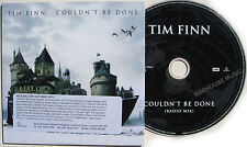 CROWDED HOUSE CD Couldn't Be Done 1 TRACK Radio PROMO in Card slip-in Sleeve MIN