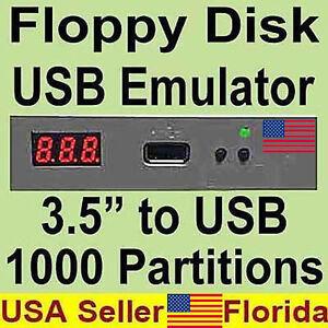 USB to Floppy Disk Drive Emulator Roland MT300, MT300S, MT90S, MT80S, MT200, 120