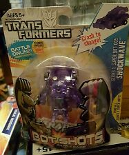Transformers Bot Shots Clear Shockwave Series 1 005