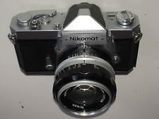 Nikon Nikomat FTN Chrome + NIKKOR-S 50 mm f1.4 AI Lens Set ** Comme neuf-Serviced **