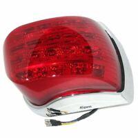 Vespa LED TailLight Rear Lamp Chrome LML Star Stella Delux PX 125 150 200