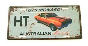 HOLDEN MONARO GTS HT metal signs Aust Muscle cars man cave 30x15cm FREEPOST