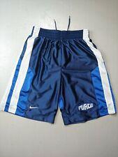 Nike Air Force 1 Shorts Basketball Size Small 100 Polyester Rare hype drawstring