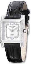 Ladies Charles Hubert 0.42ctw Diamond Bezel White 29x28mm Dial Watch