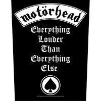 Motorhead Patch Louder Backpatch