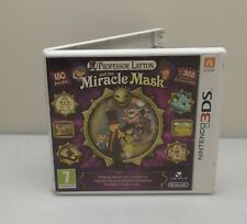 PROFESSOR LAYTON AND THE MIRACLE MASK NINTENDO 3DS 3DS XL BOXED