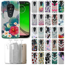 "For Motorola Moto G7 Play / T-Mobile Revvlry 5.7"" Bling Glitter Gel Case Cover"