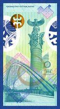 Kazakhstan / De La Rue Astana 2014 Polymer Specimen Test Note Fds/Unc in Folder