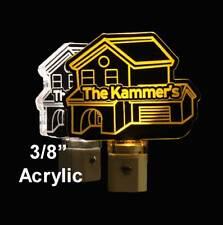 Personalized House Warming LED Night Light