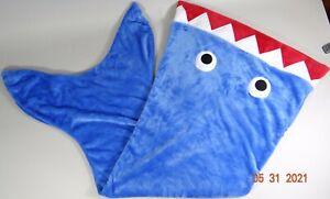 Gertex Shark Blanket Sleeping Bag Sleepsack Wearable Super Soft 55x26 Kids Baby