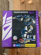 Transformers Masterpiece Soundwave Hasbro MP-02 with 5 Cassettes ToysRUs SEALED
