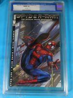 CGC Comic graded 9.8 marvel spiderman movie adaption #N/N Key film