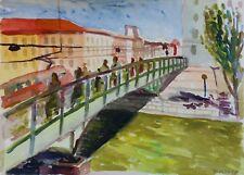 Bridge over Danube Canal Vienna