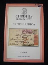 Christies Lowe subasta catálogo 1984 Británico África