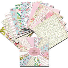 12PCS 6 x 6'' Floral Paper Pad  Single-sided Scrapbooking Card Album Making DIY