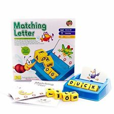 Alphabet Letter Word Match and Spell Board Games for Kids Toddle Preschoolers Le