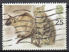 Großbritannien England gestempelt Katze Tier Haustier Tierwelt Animation / 596