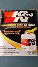 K&N Performance Gold engine oil filter HP1017 Cadillac Chevrolet Dodge GMC Jeep