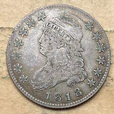1818 Capped Bust Quarter  VF/XF