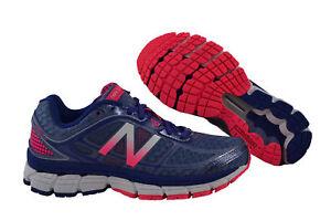 New Balance W860 GP5 B V5 blau pink weiß Schuhe Laufschuhe