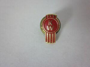 Kenworth KW hat pin lapel emblem decal plaque diesel badge truck cap Vintage
