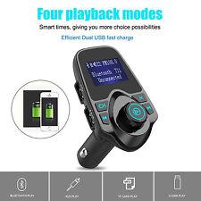 LED Car Kit Multifunction Wireless Bluetooth MP3 Player FM Transmitter Radio