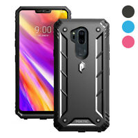 LG G7 ThinQ Case,Poetic®  [Free Screen Protector] Heavy Duty Shockproof Cover