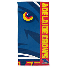 Adelaide Crows Beach AFL Bath Gym Towel Man Cave Fathers Day Christmas Gift
