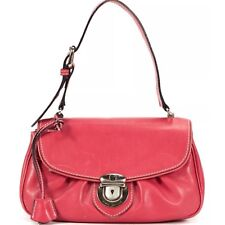 MARC JACOBS Leather Flap Shoulder Bag  Italy with Dust Bag