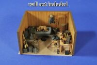 █ 1/35 Resin WWII German Soldier Room Items No Wall Set Unpainted QJ036